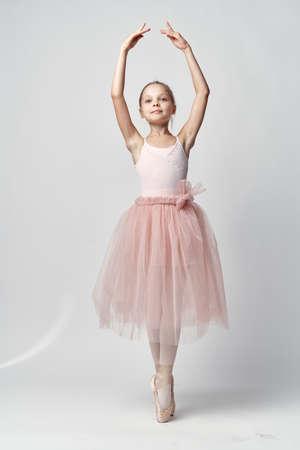 girl ballet dancer in a skirt, dance, ballet.