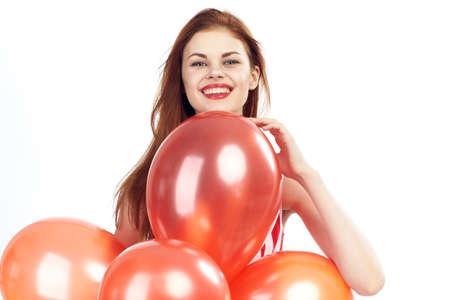 smile, balloons.