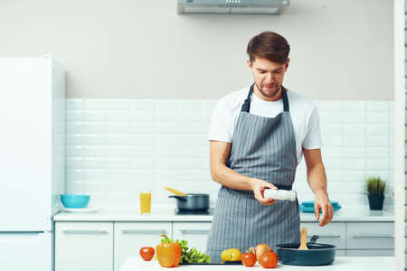 cook apron cooking food product