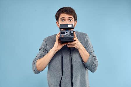 photographer professional camera technology studio profession lifestyle hobby equipment Stockfoto
