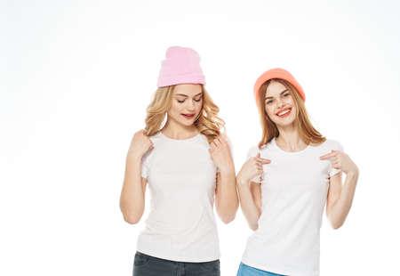 Sisters joy emotions lifestyle fun cropped view fashion
