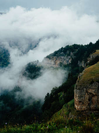 mountains landscape travel clouds active leisure freedom