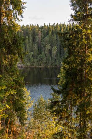 The Valaam Archipelago. Stock Photo