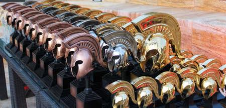 Greek spartan helmets, sports prizes