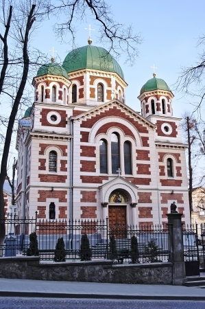 Cathedral of St  George in Lvov, Moscow Patriarchate Stock Photo - 14636318