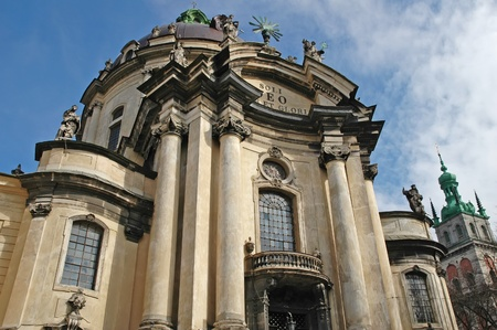 Dominican church in Lviv, Ukraine  Founded in 1745 Stock Photo - 14636396