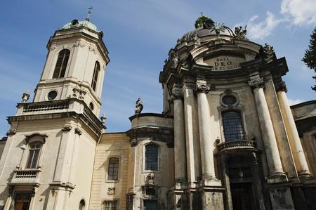 Dominican church in Lviv, Ukraine. Founded in 1745 Stock Photo - 14637187