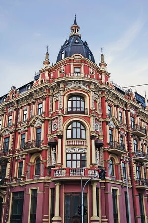 Beautiful old building in the neo-Renaissance style. The hotel  photo