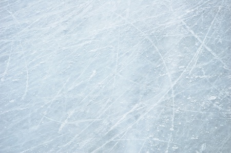 rink: Scratches on the surface of the ice