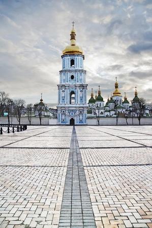St  Sophia Cathedral in Kyiv, Ukraine  Build time - XI century Stock Photo - 14675582
