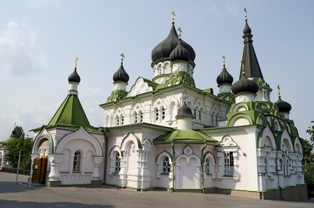 Church of the Intercession in Pokrovsky Monastery in Kiev, Ukraine Stock Photo - 15548224