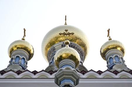 St. Nicholas Cathedral in Pokrovsky Monastery in Kiev, Ukraine Stock Photo - 15548222