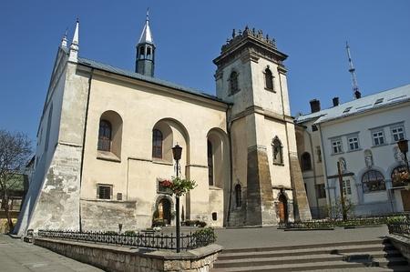 benedictine: Monasterio benedictino en Lvov, Ucrania