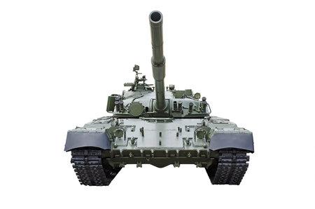 tanque de guerra: Tanque ruso, aislado m�s de blanco