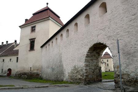 sobieski: Architectural landmark - The Zhovkva Castle near Lvov, Ukraine  The Sobieski residence in Zhovkva Editorial
