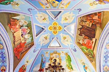 by catherine: Interior of the church of St. Catherine in Feodosia, Crimea