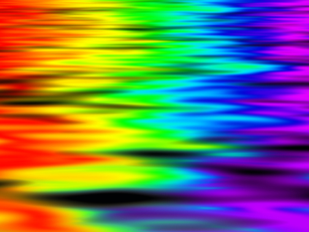 dispersion: Abstract background - reflection optical spectrum in water