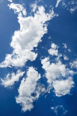 puffy: Beautiful backdrop - the puffy clouds