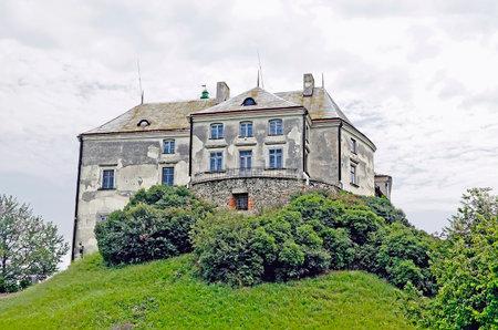 lvov: Olessky castle. Near Lvov, Ukraine. Time of construction XIV-XVII.