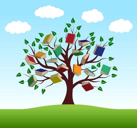conocimiento: Árbol del conocimiento en el vector de cerca