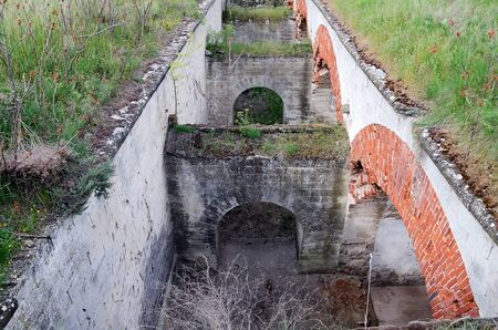 fortify: Architectural landmark - Mortar battery in the fortress of Kerch
