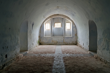 barracks: Architectural landmark - The barracks in the fortress of Kerch