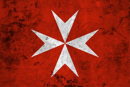 돌 질감의 배경에 대해 몰타의 국기 스톡 콘텐츠 - 85339890