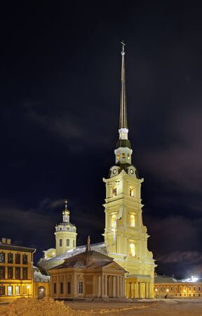 Peter and Paul Cathedral, Saint Petersburg, Russia photo