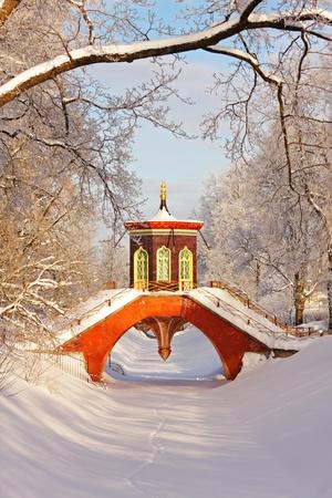 selo: Cross Bridge, Tsarskoye Selo, Saint Petersburg, Russia