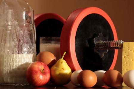 Bodybuilding and vegetarianism photo