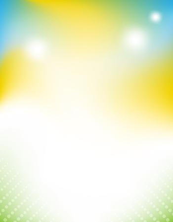 Résumé vives fond coloré joyeux. EPS 10 illustration vectorielle, la transparence et gradients utilisé Banque d'images - 45725501