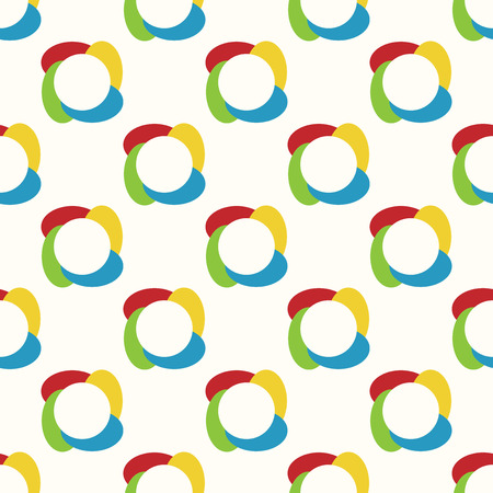 eps 8: Colorful abstract seamless pattern. EPS 8 vector illustration, no transparency