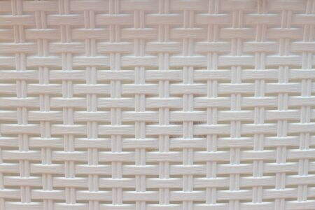 white plastic background with weaves Banque d'images