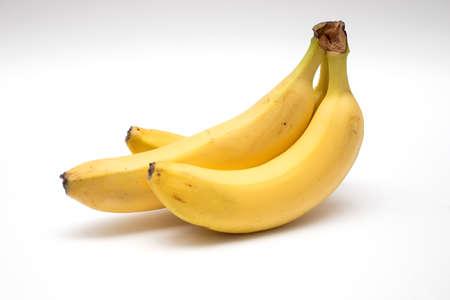 Bunch of fresh ripe yellow bananas. Stockfoto