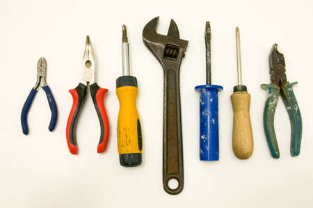 do it yourself: Do it yourself tools isolated on white background.