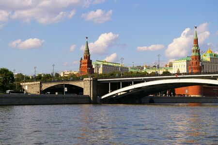 River view to the Moscow Kremlin photo