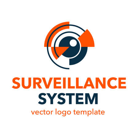 Surveillance system or Spy video equipment  template