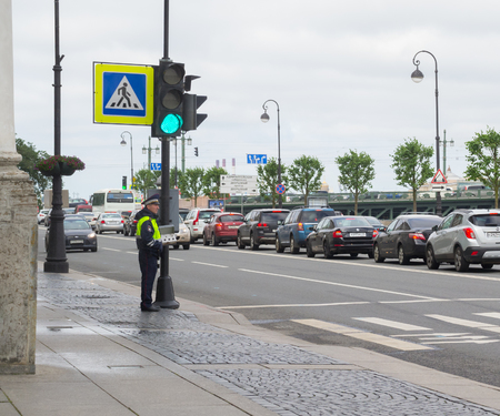 remote controls: police controls with remote pedestrian crossing