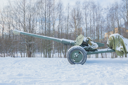 in the sky stared down barrel of artillery.