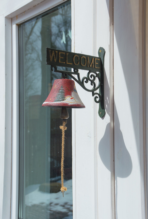 the bell at the door instead of calling.