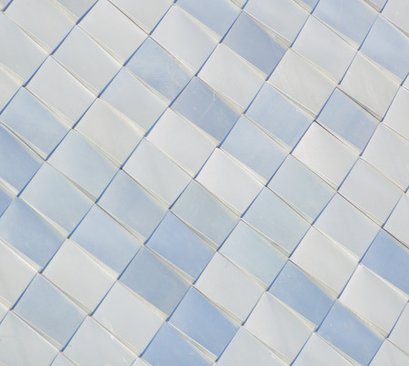 Quadrate, Rauten, hintergrund, close-up. Stockfoto