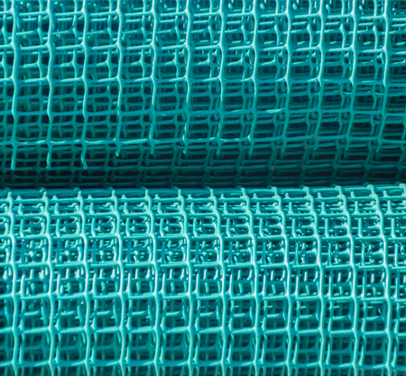 mesh coils for fence.