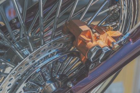 voorvork en rem retro fiets