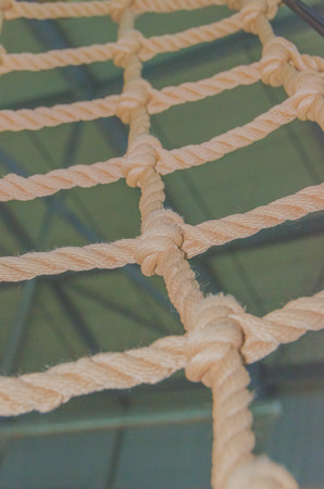 close-up rope bound in the adventure Park Stock fotó