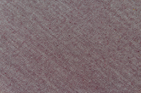 closeup of the brown fabric texture