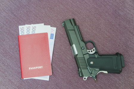 the weapon of money invested in Euro passport