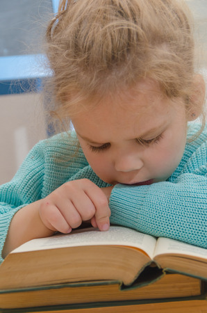girl, child, elementary school student with a book Stok Fotoğraf - 104590952