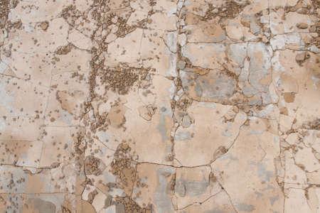 fragmentation: beige cracks stone texture for overlay Stock Photo