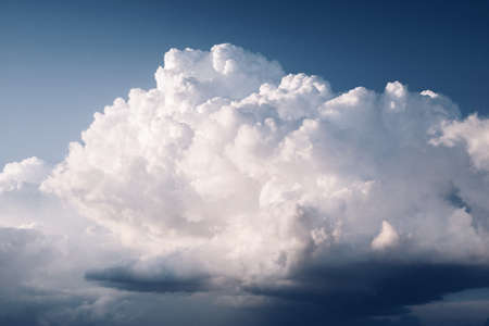 cumulus: Great rain clouds dramatic mood