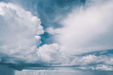 foreshadowing: Menacing clouds in the sky